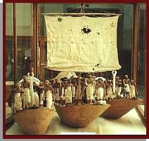 Egyptian Museum - Boats